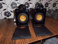 2 x LOGIC 3 Hi-Fi SPEAKERS