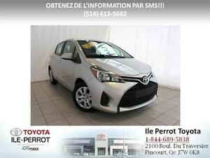 2016 Toyota Yaris LE, A/C, GR ÉLEC, CRUISE, BLUETOOTH