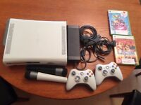 Xbox 360 60GB Bundle: includes console, leads, 2 x controllers, 2 x microphones, 2 x karaoke games
