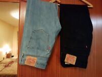 SECOND HAND LEVI JEANS FOR SALE