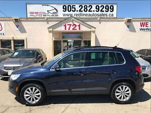 2011 Volkswagen Tiguan Highline, Pano Roof, WE APPROVE ALL CREDI