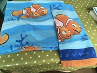 NEMO brushed cotton SINGLE duvet cover and pillow case