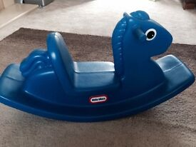 Little Tikes Rocking Horse Blue for sale