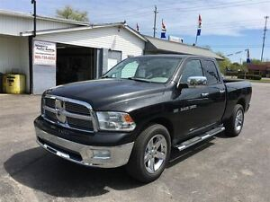 2011 Ram 1500 BLACK BIG HORN CREW 4X4