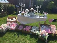 Wedding decorations- job lot ***£550 or sensible offers only***