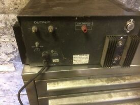 ASTRON RS-50A-220V POWER SUPPLY WORKS OUT OF GARAGE SO BIT MUCKY SEE PICS