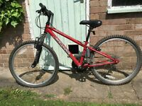Children's bike (boy or girl). For ages 8-11ish. Fully working.