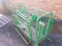 Sheep turnover crate in great working order tractor farm