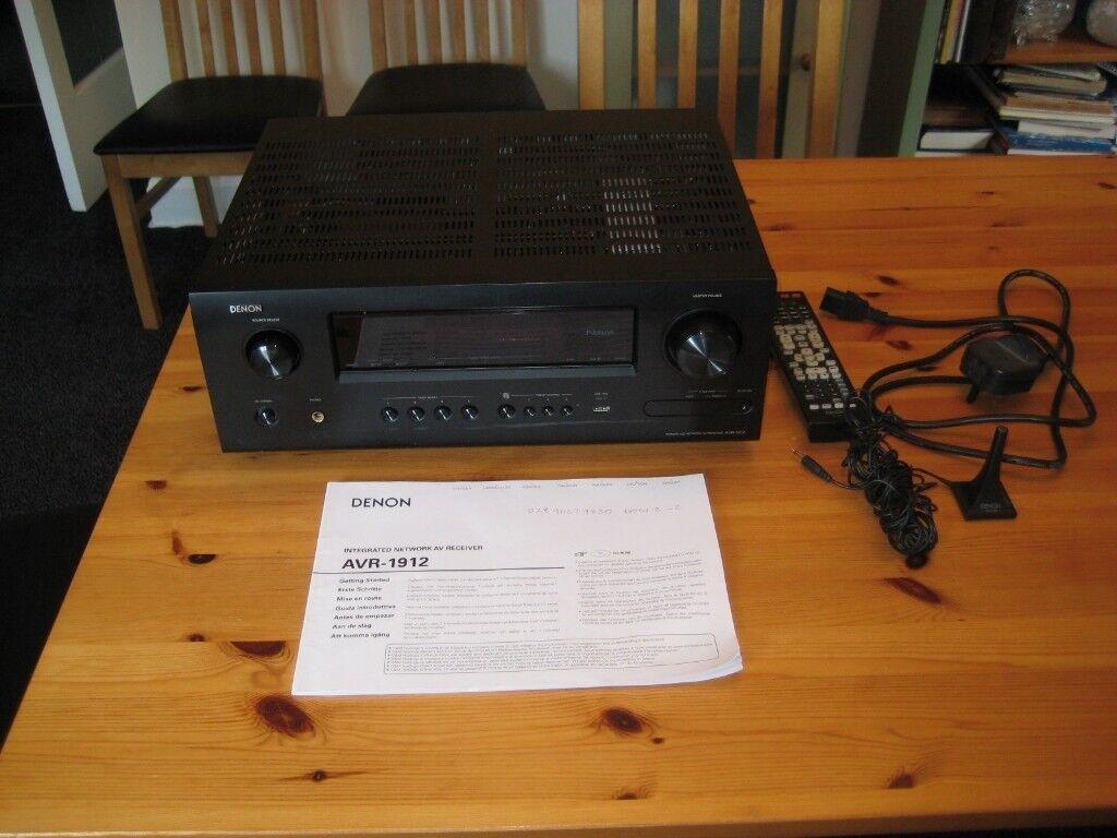 Denon AVR 1912 7 1-channel HD-Audio Receiver | in Newton Mearns, Glasgow |  Gumtree