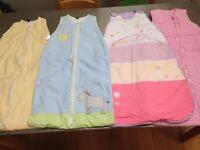 4 x Baby/Toddler Sleeping Bags (JoJo Mama Bebe x 2)