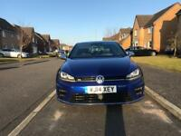 VW Golf R 5dr DSG 2014 Lapiz Blue HPI Clear