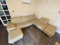 Luxury Right Leather Corner Sofa | RRP £1,995