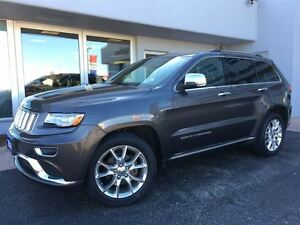 2014 Jeep Grand Cherokee Summit HEATED LEATHER INTERIOR...
