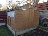 "Garden shed - ""BillyOh Master"" Tongue and Groove Apex Shed 10x8ft"