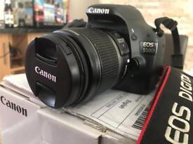 Canon eos 550 d DSLR Camera