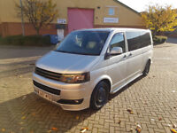 VW T5 LWB 2010 Camper Van with lots of mods inc Gas Heater - FSH, A/C 2.0L, 120ps mapped to 160ish
