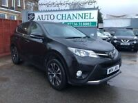 Toyota RAV4 2.0 D-4D Icon AWD 5dr (nav)£13,495 p/x welcome 1 YEAR FREE WARRANTY. NEW MOT