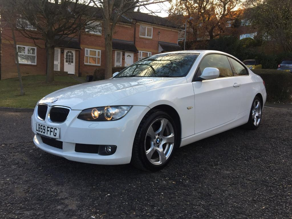 2009 BMW 320D SE COUPE MANUAL WHITE FULL SERVICE HISTORY