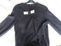 mens hugo boss jumper, with tags
