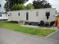 2013 Abi Horizon static caravan 3 Bed, 8 Berth, 2 toilet, double glazed and central heating.
