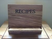 John Lewis Wooden Recipe Stand