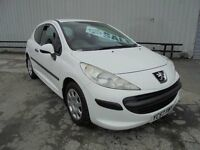 PEUGEOT 207 1.4 HDI VAN WHITE VERY CLEAN CONDITION NO VAT