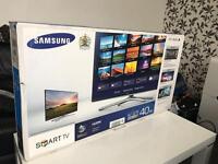 "Samsung 40"" 7 Series LED SMART 3D TV 800hz FullHD 1080p USB Bulit in Wifi Ultra Slim 2 x 3D Glasses"