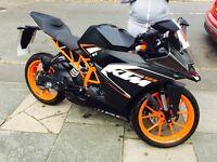 KTM RC 125cc sports bike 2016 Yamaha Suzuki