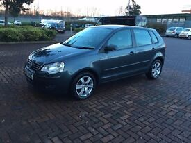 2008 (57) VOLKSWAGEN POLO MATCH (60) 1.2 PETROL 5dr (Full Service History) 1 Year MOT NOT FABIA