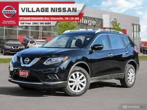 2015 Nissan Rogue S LOW KMS GREAT COLOUR