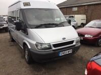 2006 FORD TRANSIT TOP OF ONE COMPANY OWNED BUS £22000 OF SERVICE HISTORY RARE TWINSIDE DOOR AIRCON