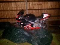 Quik sale needed 2001 aprilia rsv mille 1000cc