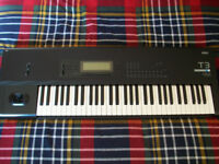 Korg T3 Music Workstation Synthesizer Keyboard