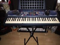yamaha psr-260 key board complete with sustain pedal(cud deliver)