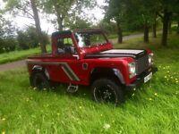Landrover Defender 90 300tdi county pickup