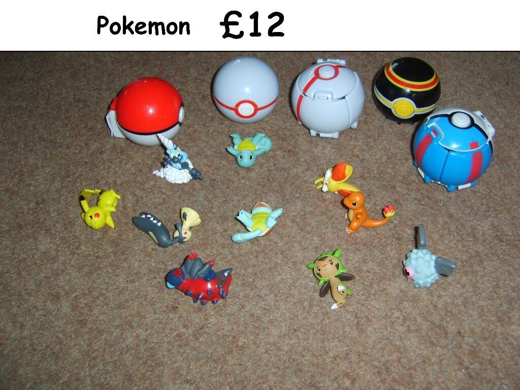 Assorted pokemon bundle all in pic from a smoke free home collection from didcot £12