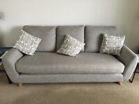 G plan vintage 3 seater sofa