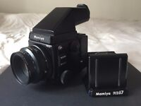 Mamiya RZ67 Pro II Kit in Excellent Condition - includes Mamiya Model 2 Prism Finder