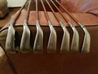 Ping G10 irons. Callaway Taylormade golf clubs