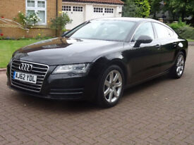 2013 AUDI A7 3.0 TDI SE 5d AUTO 201 BHP SERVICE RECORD** NAVIGATION SYSTEM 1 PREVIOUS KEEPER,