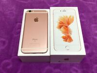 Apple iPhone 6S 32GB Rose Gold unlocked to all network in box for sale