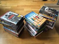 Job lot of 53 dvds for car boot market stall
