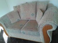 Two seater sofa\settee