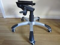 REPLACEMENT OFFICE SWIVEL CHAIR 5-SPOKE BASE WITH GAS LIFT