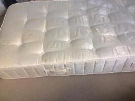 Single mattress. Barely used & unmarked