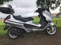2007 PIAGGIO X8 125 BIG TOURING SCOOTER LONG MOT VERY CLEAN ONLY £999