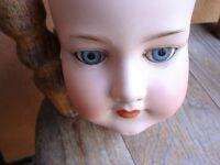 Antique Armand Marseille Bisque Dolls Head