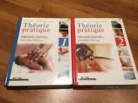 Livres théorie et pratique tome 1 et 2