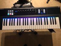 Native Instruments Komplete Kontrol S49 mk1 Keyboard Controller Great Condition