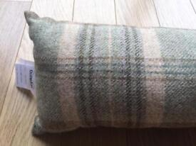Dunelm Mill tweed effect draught excluder